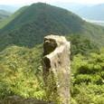 笠形山 立岩